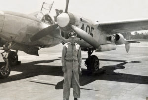 Capt Carroll Knott: a pilot instructor for the P-38 Lightning