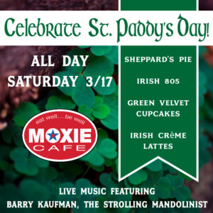 St. Paddy's Day and Live Music with Barry Kaufman